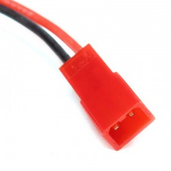 JST Connector with Silicon Wire